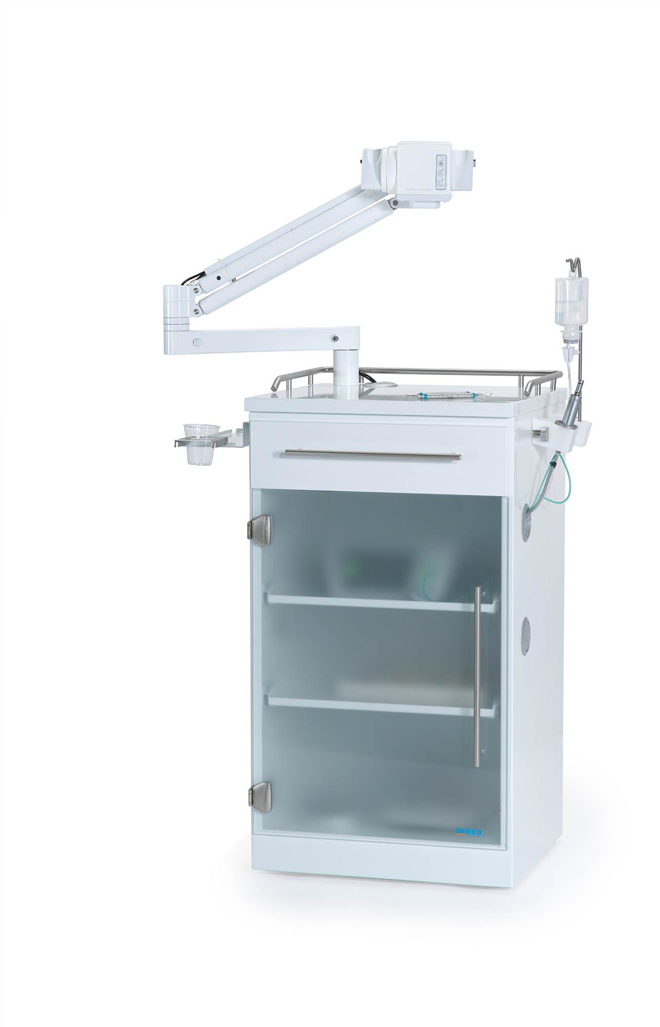 DEMED4278 mit Schatten - DEMED Dental Medizintechnik: Gerätewagen klinisch-clean