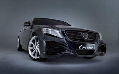 Sportservice Lorinser: Veredelte Mercedes-Modelle im Fotostudio