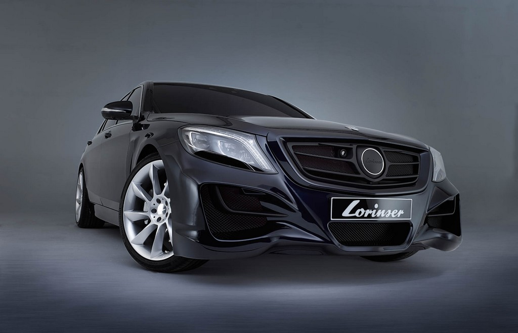 S Klasse 3 00001 concrete - Sportservice Lorinser: Veredelte Mercedes-Modelle im Fotostudio