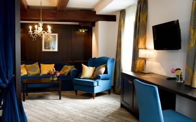 Forsthaus Wörnbrunn: Hotelzimmer voller Gastfreundschaft