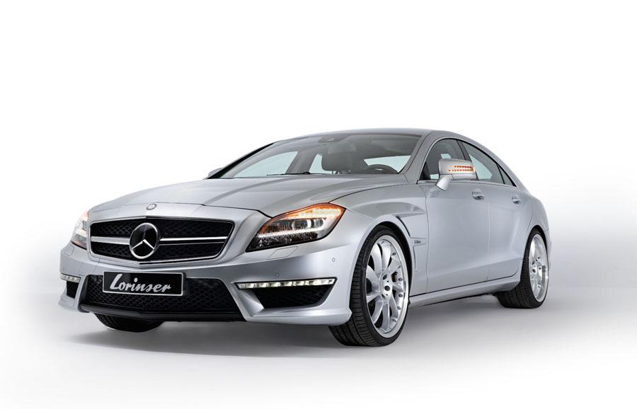 CLS 00065 5 - Sportservice Lorinser: Veredelte Mercedes-Modelle im Fotostudio