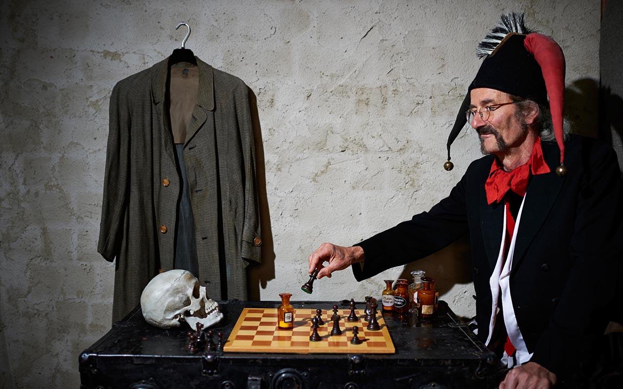 Narr Zauber 0891 - Zaubermühle Merklingen: zu Besuch beim Narren Frascatelli