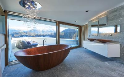 Penthouse St. Moritz: Frisch eingerichtet, frisch abgelichtet