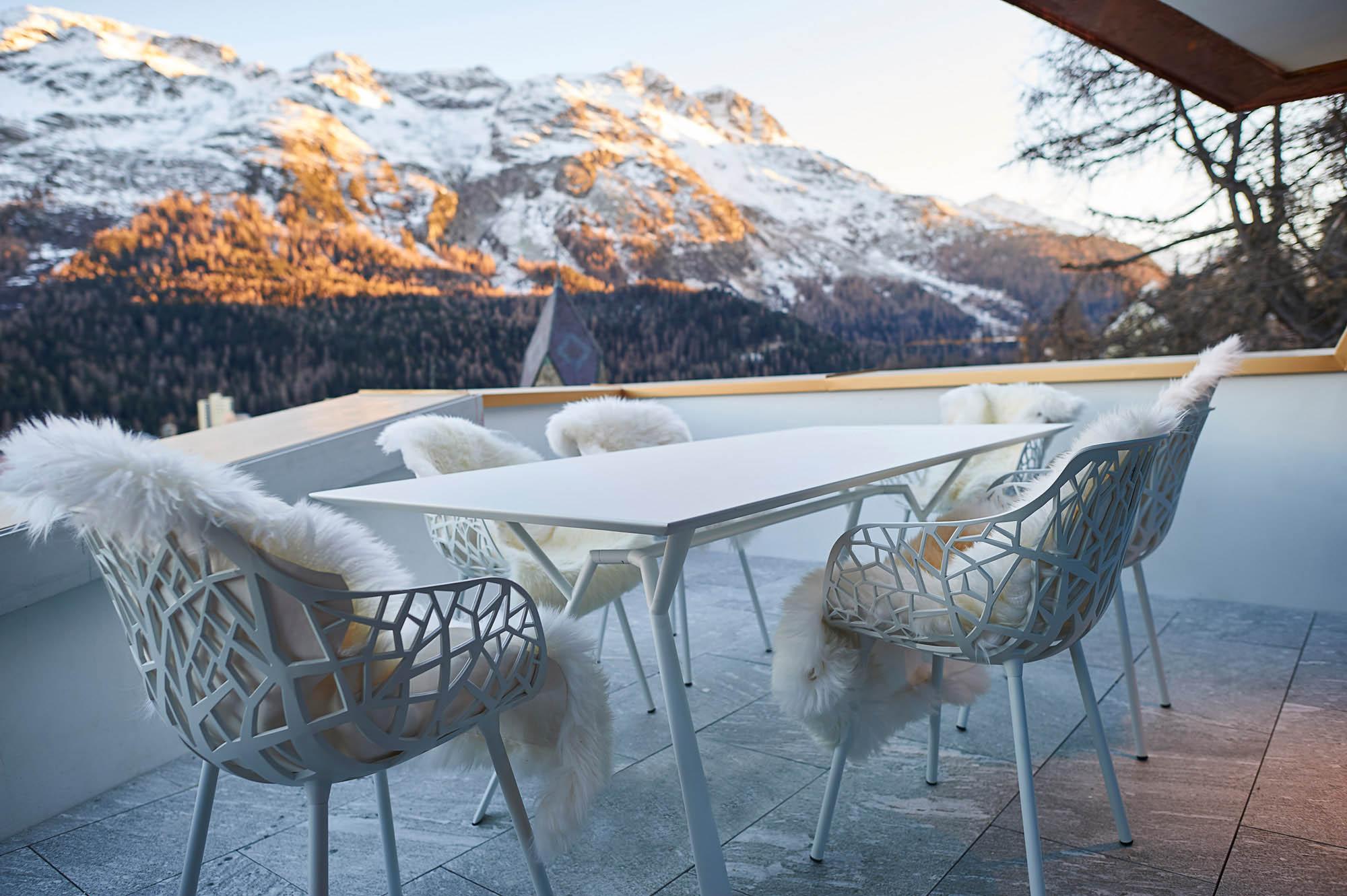 OPC 151127 1064 - Penthouse St. Moritz: Frisch eingerichtet, frisch abgelichtet