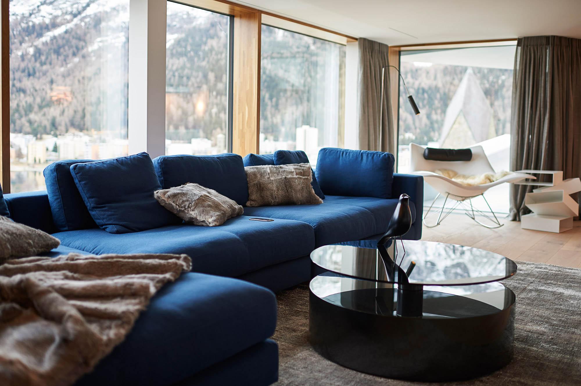 OPC 151128 1113 - Penthouse St. Moritz: Frisch eingerichtet, frisch abgelichtet