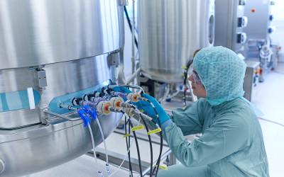 Rentschler Biotechnologie: Bilder für die Unternehmenskommunikation