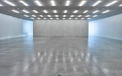 Galerie Stihl Waiblingen: Ablichtung der Ausstellungshalle