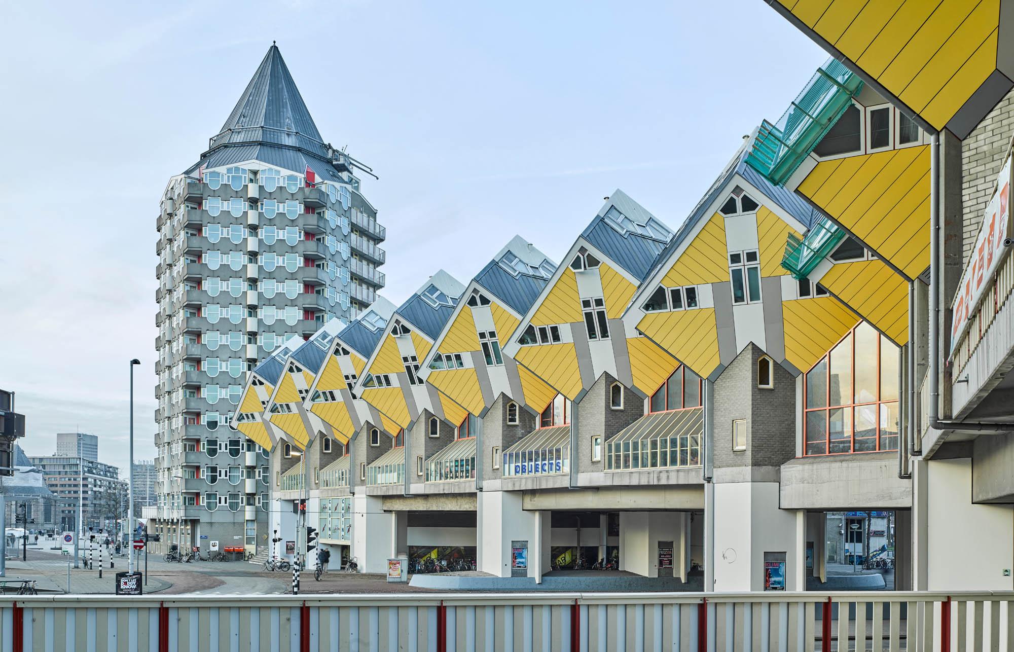 Opp 004876 - Rotterdam: Spielwiese verrückter Architektur von Weltruf