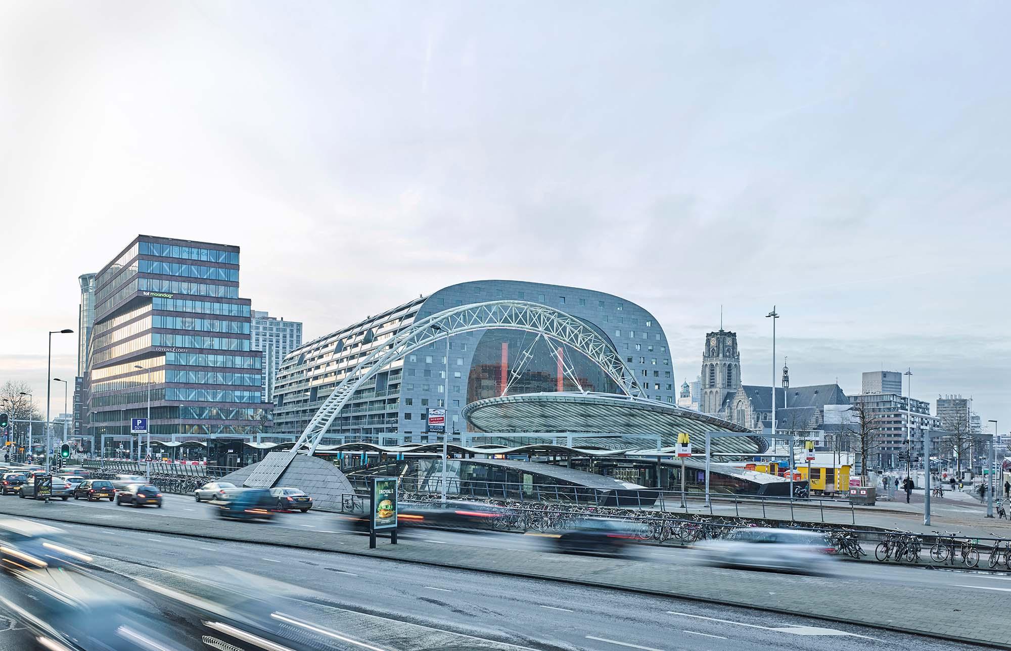 Opp 004882 - Rotterdam: Spielwiese verrückter Architektur von Weltruf