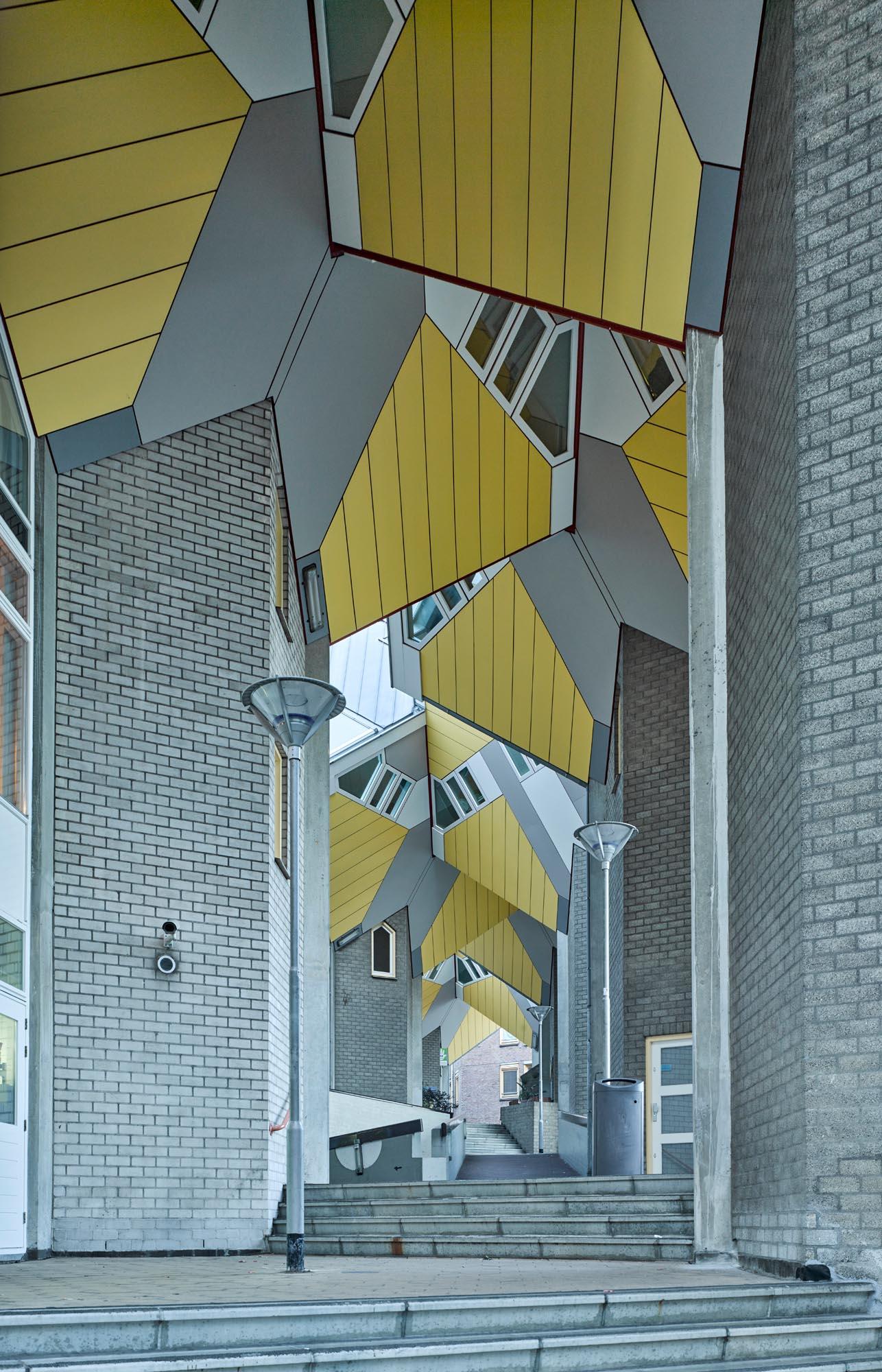 Opp 004885 - Rotterdam: Spielwiese verrückter Architektur von Weltruf