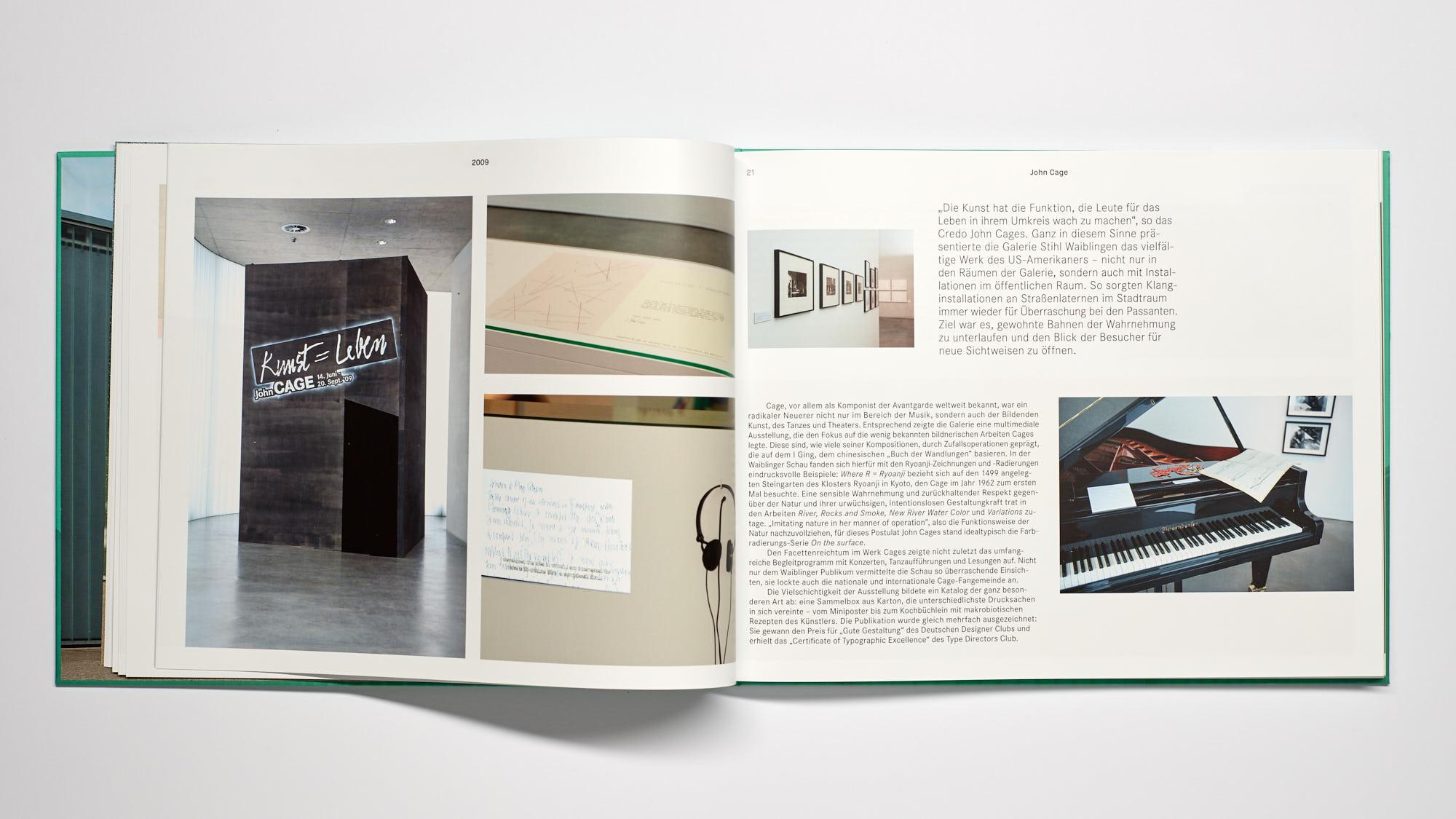 Stihl Galerie WN Cage - 10 Jahre Galerie Stihl Waiblingen