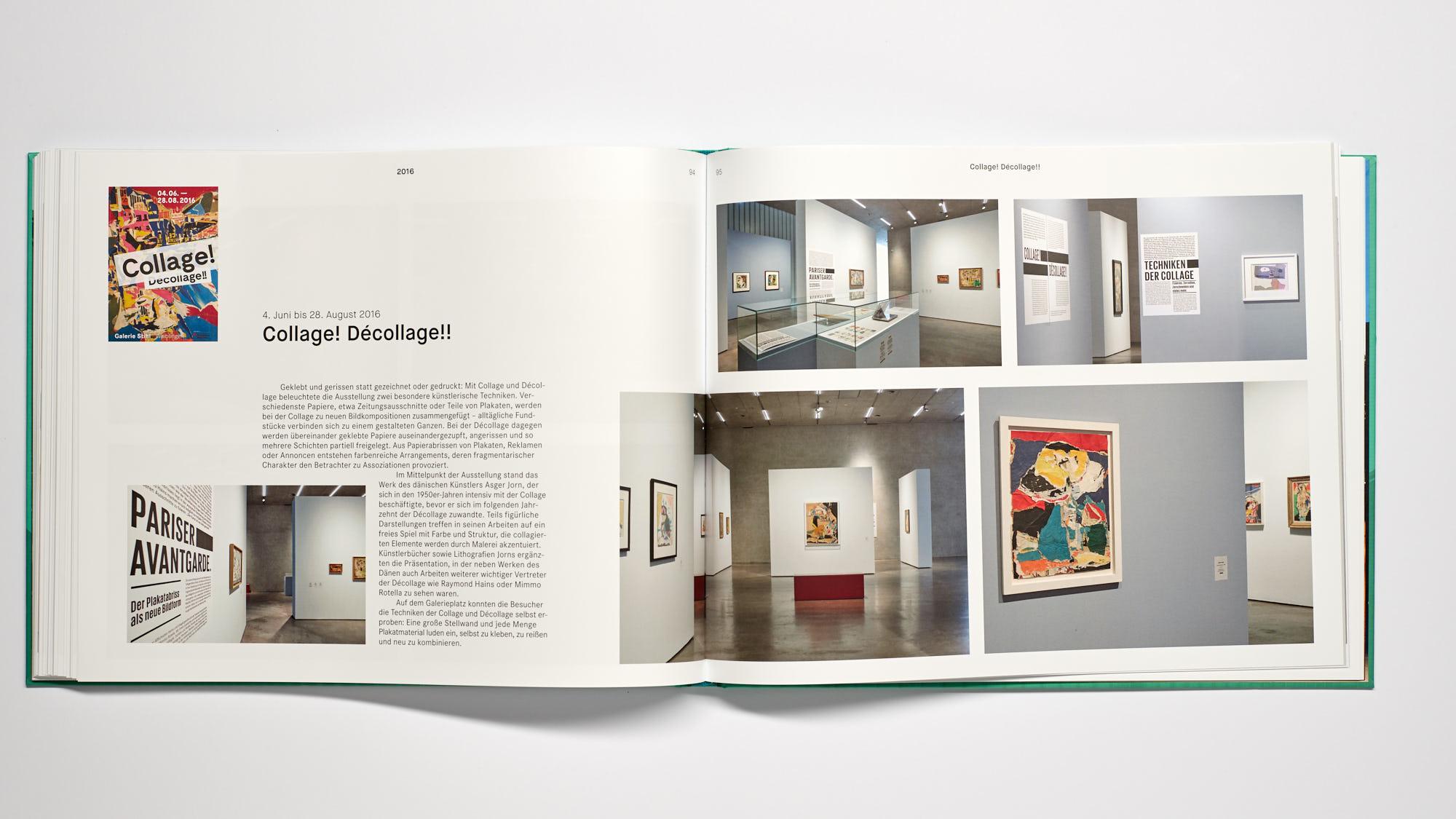 Stihl Galerie WN Collage Decollage - 10 Jahre Galerie Stihl Waiblingen