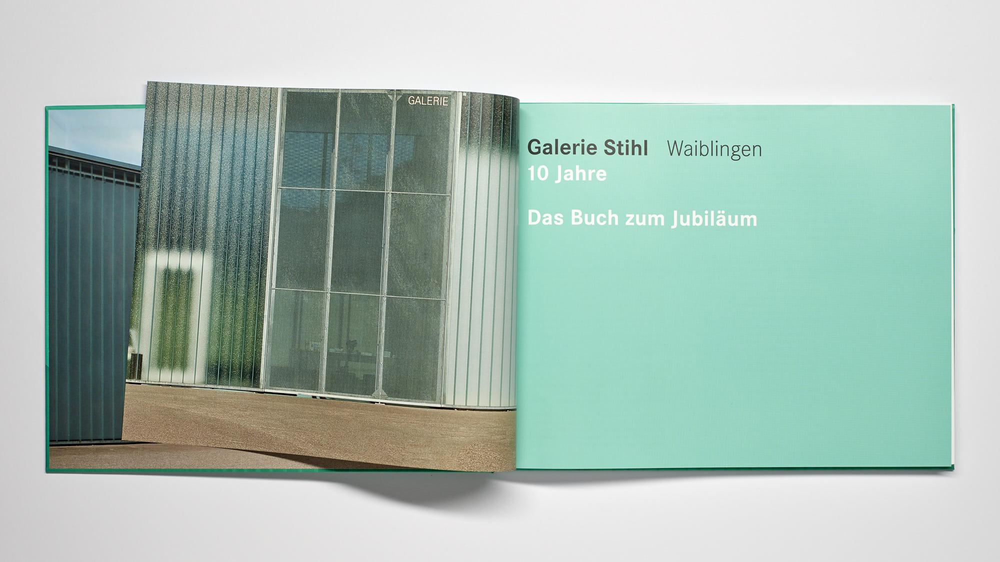 Stihl Galerie WN Eingang  - 10 Jahre Galerie Stihl Waiblingen