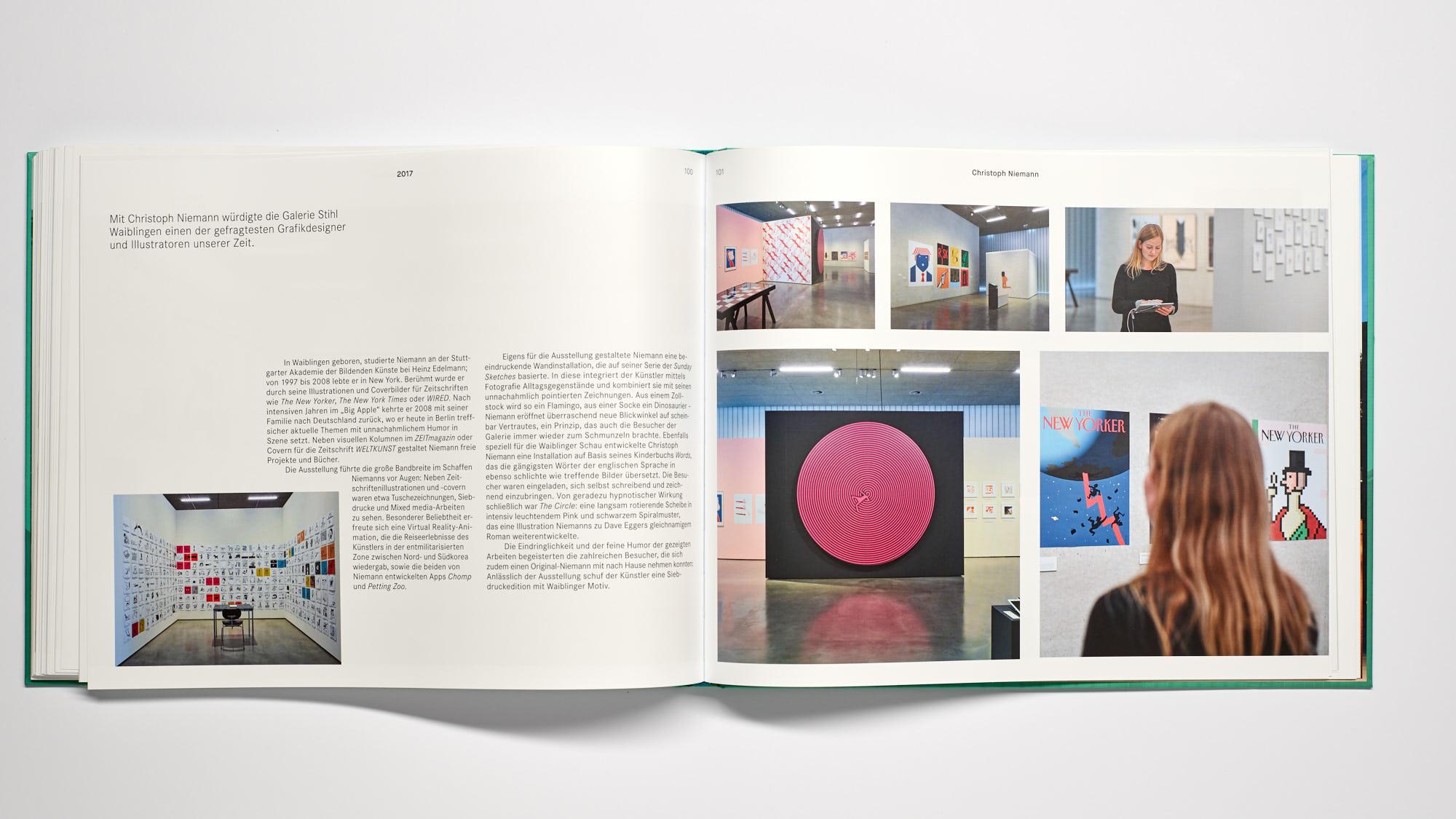 Stihl Galerie WN Niemann - 10 Jahre Galerie Stihl Waiblingen
