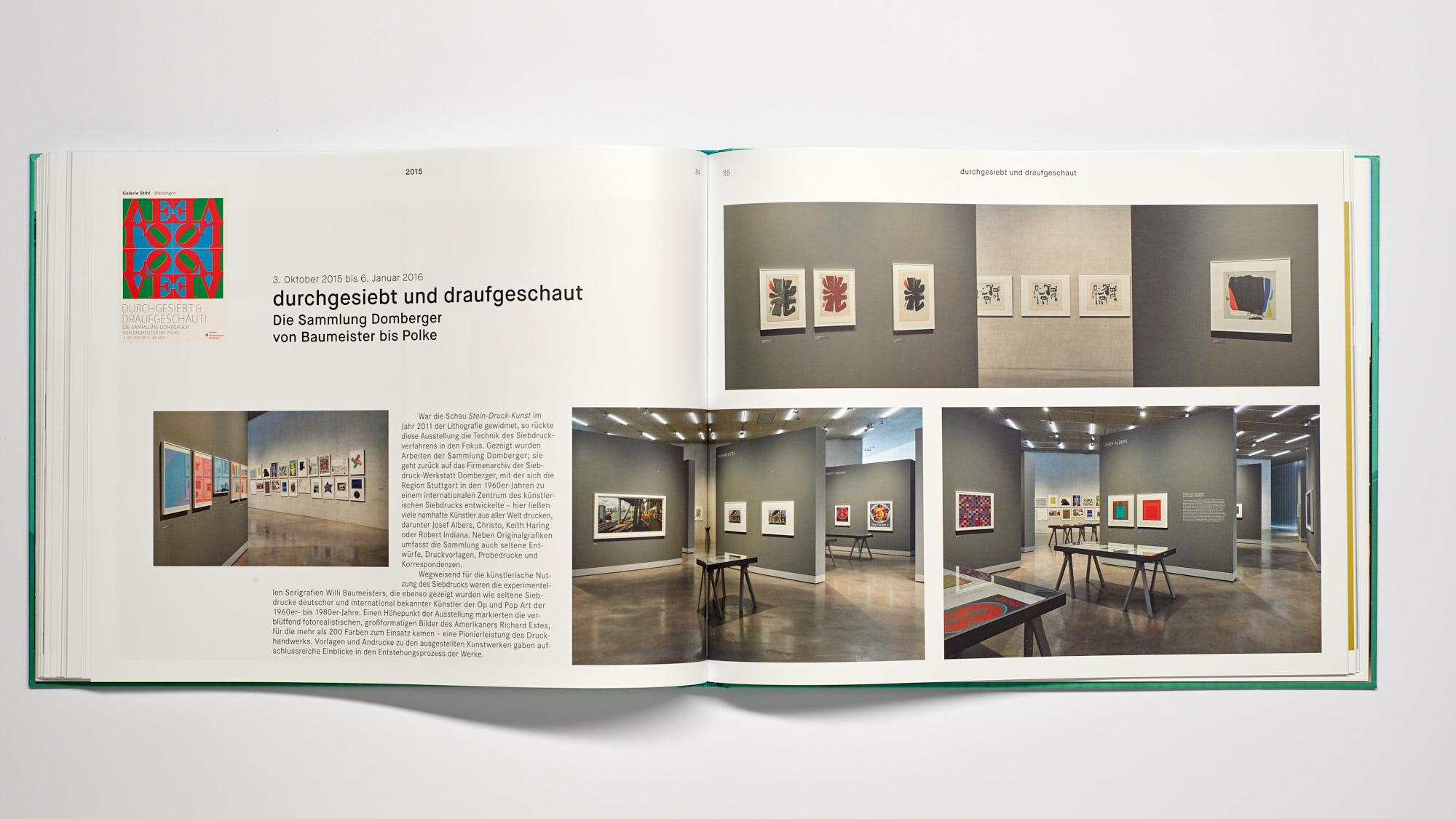 Stihl Galerie WN Siebdruck - 10 Jahre Galerie Stihl Waiblingen